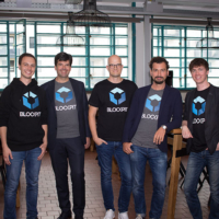 The Blockpit Founder Team from left: Mathias Maier (CTO), Gert Weidinger (Business Angel), Gerd Karlhuber (IT-Strategy), Patric Stadlbauer (Tax Advisor) and Florian Wimmer (CEO).