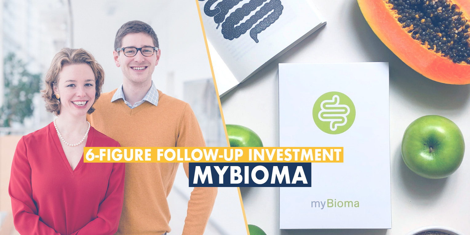 Founders of myBioma after follow-up investmemnt round