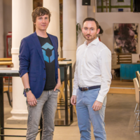 Founders and CEOs of Blockpit and Cryptotax after acquisition
